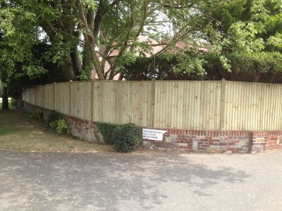 Fencing in New Malden