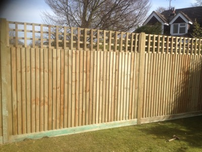 Fencing in Fetcham