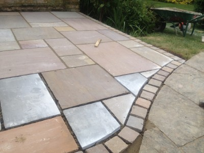 Patio paving in Guildford