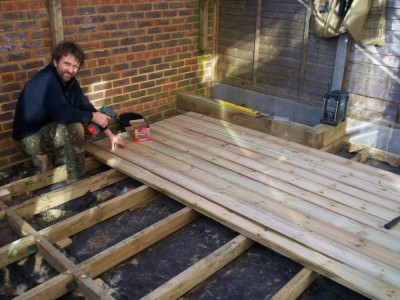 Decking fitted in Epsom